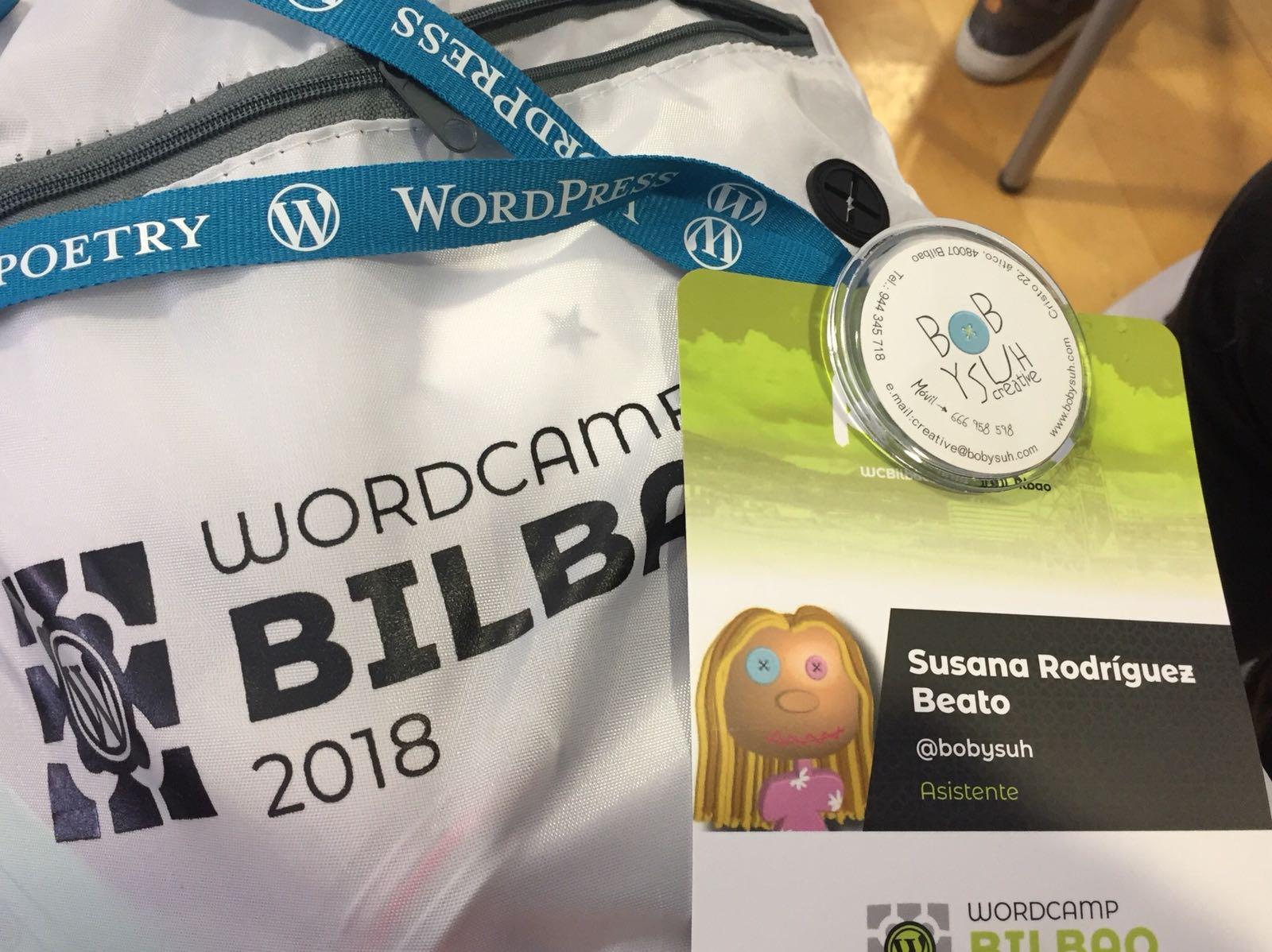 Bobysuh en la WordCamp Bilbao 2018