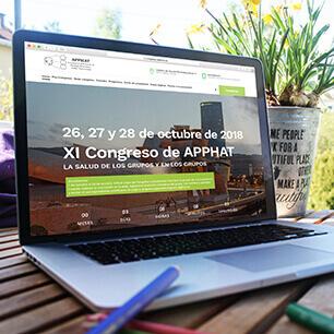 diseño grafico congreso apphat